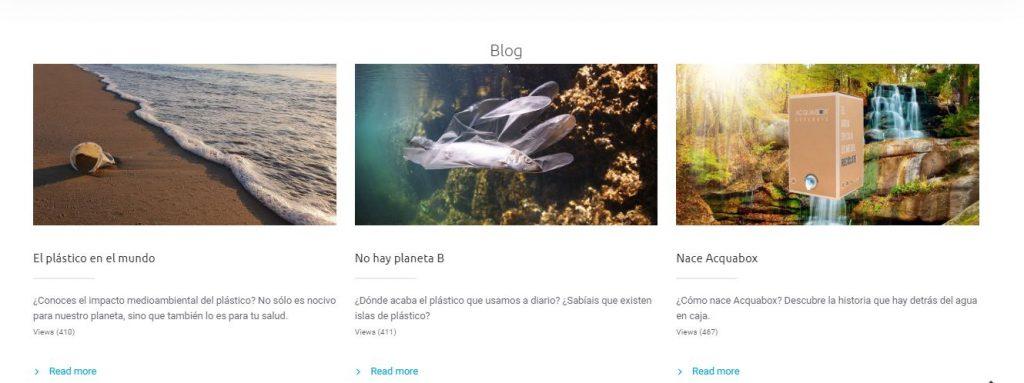 Imagen del Blog de Acquabox Home